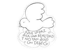 DIA DE LA PAZ - Vane sa - Álbumes web de Picasa Dog Tags, Dog Tag Necklace, Teaching, Ideas Para, School, Frases, Art Rooms, Picasa, Teachers