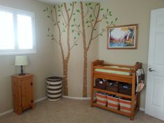 Calvin and Hobbes Nursery- For those of us who don't want a giant mural!