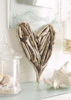 Driftwood Design Heart