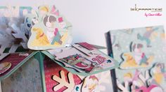 Card in Box de navidad con la colección Candy Cane Lane de Bo Bunny, by Amor Villar Skparates