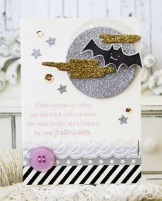 'Tis Near Halloween Card by Melissa Phillips for Papertrey Ink (August 2014)