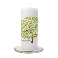 Hochzeitskerze 'Bird Tree'