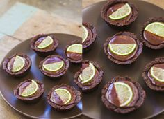 Chocolate & Lime Tartlets