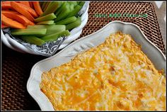 Skinny Ranch Chicken Dip
