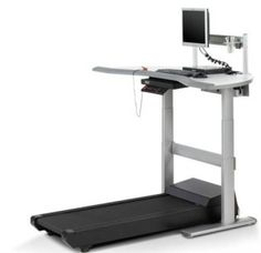 Add movement to your workday with the Steelcase Sit-to-Walkstation, which combines a treadmill and desk in one to easily feel healthier and more energized. Home Office Furniture, Home Office Decor, Online Furniture, Office Exercise, Office Workouts, Work Chair, Future Office, Adjustable Height Desk