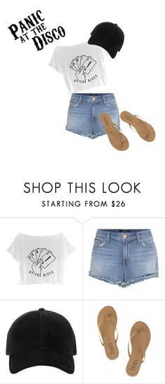 """Panic!"" by virginia-j on Polyvore featuring J Brand, rag & bone and Tkees"