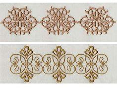 Elegant Linen Swirls