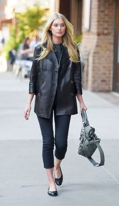 Elsa Hosk Style – Out in New York City, May 2015