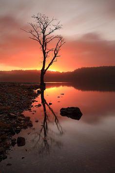 Loch Ard Sunrise.