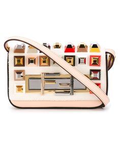Fendi | Pink Mini '3baguette' Crossbody Bag | Lyst Handbag Lyst...