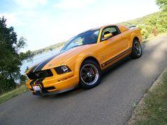 My current Mustang V6 in Grabber Orange