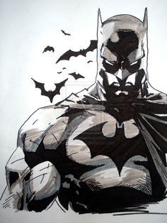 Possible Batman Tattoo? by ~se7enUPyours on deviantART
