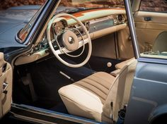 Car Porn: 1968 Mercedes-Benz 280 SL Roadster | Airows