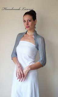Free Crochet Pattern for Summer Wedding Shrug for Brides