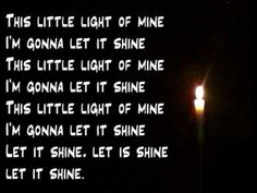 ▶ This little light of mine - YouTube - another Chalica Camp song
