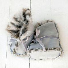 Faux fur boots PDF PATTERN