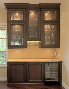 bar / butler's pantry
