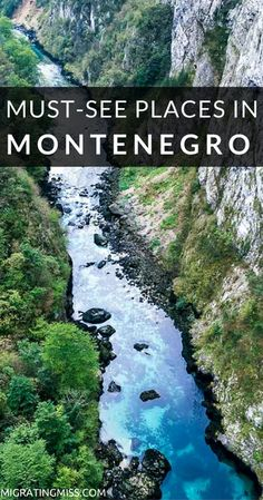 Top Places You Must See When You Visit Montenegro - like Kotor! Visit this hidden gem in Europe this summer for some of Europe's oldest history and a unique place to visit!