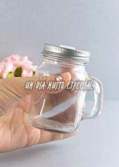 20 mini copo mason jar tampa furada 125ml lembrancinha festa