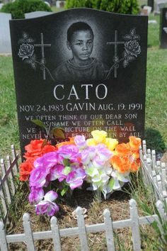 The grave of Gavin Cato, who was killed by a car driven by a Hasidic man on Aug. His death ignited the Crown Height riots, which led to the killing of Yankel Rosenbaum who was stabbed to death. Police Crime, Bill De Blasio, Name Pictures, Crown Heights, The Crown, Front Row, Anchor, Death, Events