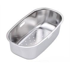 KA26SS Strainer Bowl - Stainless Steel | Kitchen Sinks | Kitchen ...