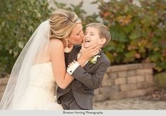 I NEED this with Charlie! forever my little buddy. met him at Jesse's cousin's wedding and now he'll be a part of ours!
