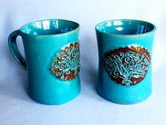 Linda Neubauer - tree of life mugs