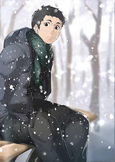 This is perfect, Daichi! Daichi Sawamura, Daisuga, Haikyuu Karasuno, Haikyuu 3, Kuroken, Kageyama, Oikawa, Me Me Me Anime, Anime Guys
