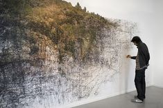 """Drawing Becomes Performance Art in """"Draw to Perform""""   Hi-Fructose Magazine"""