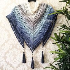 lost in time shawl revelry This pattern can be customized to your size with any yarn or hook size.