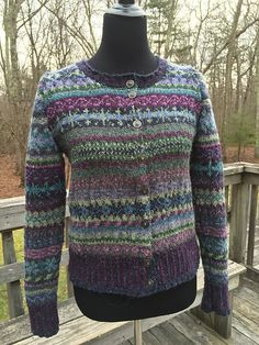 Ravelry: Project Gallery for Orkney pattern by Marie Wallin Fair Isle Knitting Patterns, Fair Isle Pattern, Cardigan Sweaters For Women, Cardigans For Women, Rowan Knitting, Rowan Felted Tweed, Crochet Magazine, Crochet Woman, Couture