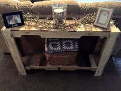 awesome pallet sofa table