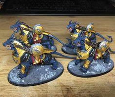 WIP: Stormcast Eternals Dracothian Guard #1