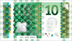 Design for a world banknote of the future