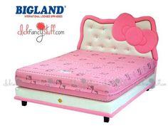 Hello Kitty Bedroom, Hello Kitty House, Hello Kitty Items, Hello Kitty Birthday, Hello Kitty Kitchen, Room Design Bedroom, Girls Bedroom, Bedroom Decor, Frozen Bedding