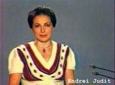 Endrei Judit bemondónő a évekből Childhood Memories, Famous People, Sari, Actors, Tv, Sweaters, Hungary, Diamonds, Youtube