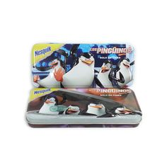 This rectangular pen tin box with vivid 3D embossing on lid can catch more kids' eyes, upscale the image of your products, and enhance your brand.