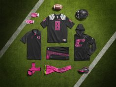 BMF Gridiron: Nike Pro Combat Oregon Ducks Kay Yow Uniform.