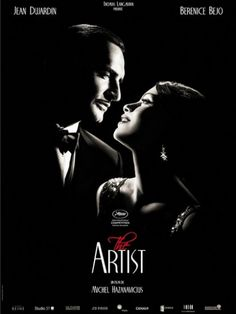 """""""The Artist"""", such a lovely movie indeed. Jean Dujardin and Berenice Bejo salutes the silent movie comedians of the past in this romantic comedy. and Uggie the dog too; The Artist Movie, Artist Film, Jean Dujardin, Love Movie, Movie Tv, Perfect Movie, Movie Plot, Soundtrack, Film Noir"""