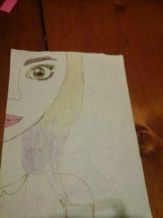 este es mi segundo dibujo de pinterest !!!!!