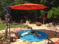 Sew And Tell Quilts: Inground Stock Tank Pool Project - Updated ...