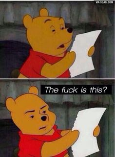 Lookin at my homework be like