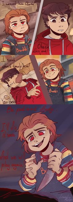 i'm in love with the landscape Chucky Horror Movie, Horror Movies, Butters South Park, Scary, Creepy, Movie Memes, Cute Comics, Undertale Au, Dark Side