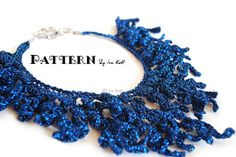 Coral Reef Necklace - Free Crochet PDF Pattern