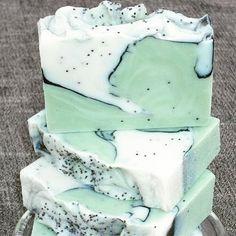 Seafoam soap via Etsy - Green Soap Design