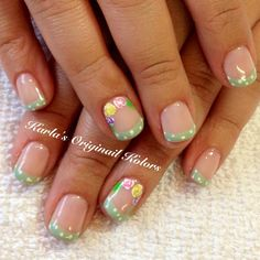 karlasoriginailkolors's spring tips! Show us your spring mani & you could be featured on our Pinterest and Instagram! Just use #SephoraSpring