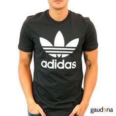 Lo mejor de Adidas para él lo encuentras solo en gaudena.com #Adidas #Deportes #ModaDeportiva #Ejercicio #Sport #Hombre #Tshirt #Playera #Camiseta #White #Blanco #Negro #Black #Dark #White