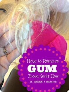 how to remove gum from hair 1000 images about mummy hacks on 7792