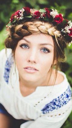 Blue Eyes and Braided Hair