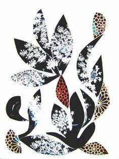 "Saatchi Art Artist Jonet Harley-Peters; Collage, ""Fragile tendril"" #art"